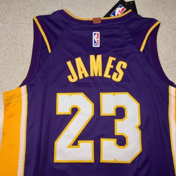 LEBRON JAMES LOS ANGELES LAKERS JERSEY - ALL SIZE 543a57227